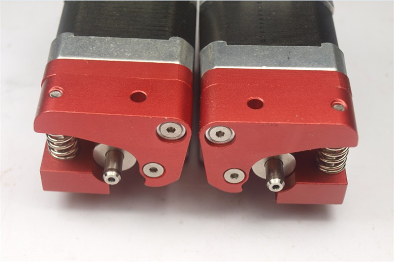 Makerbot Replicator 2x extruder a pair of dual Reprap Extruder right and left side upgrade edition full metal aluminum