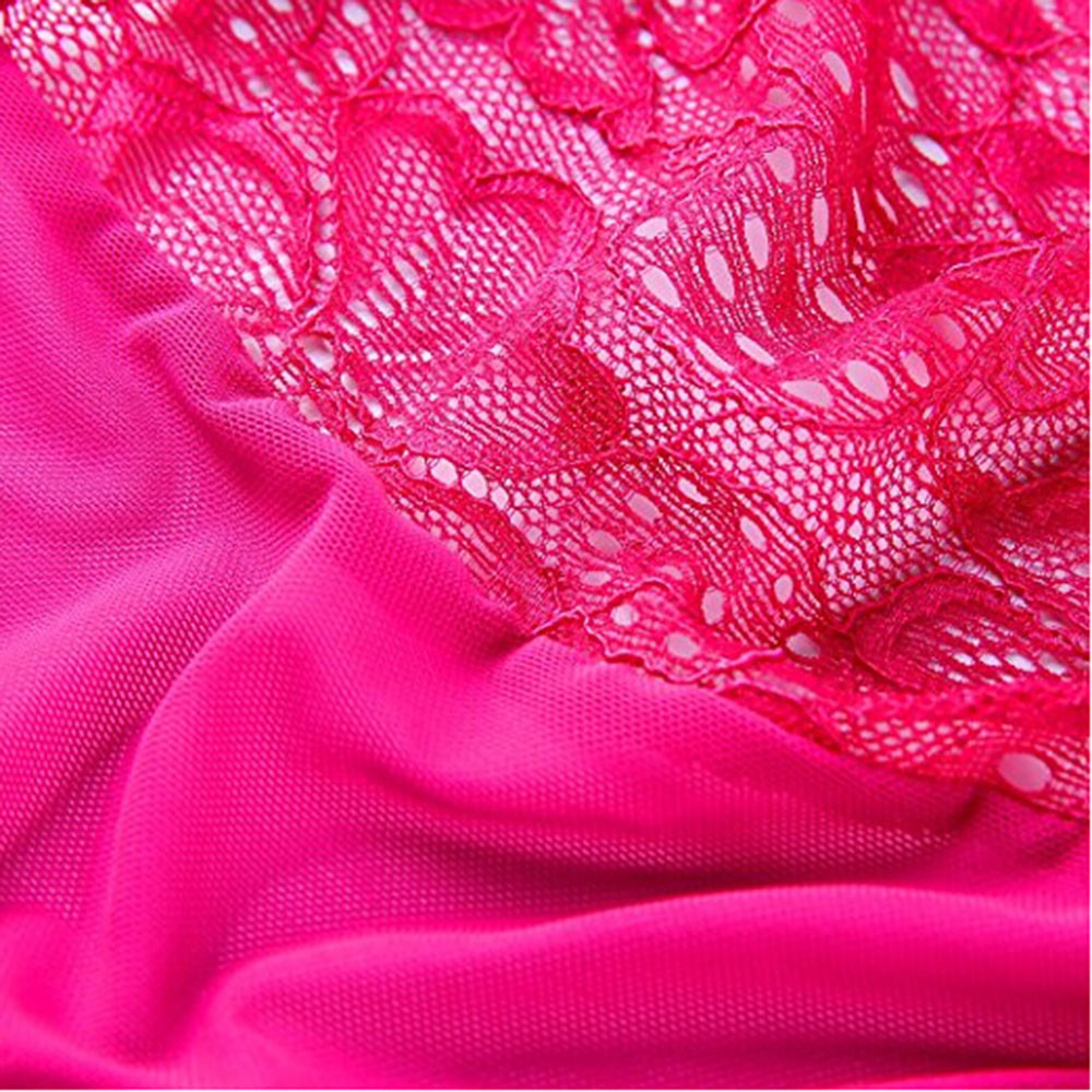 HTB1lr4OSW6qK1RjSZFmq6x0PFXa1 - Plus Size Open Bra Open Crotch Women Lace Sexy Lingerie Hot Transparent Babydoll Dress Erotic Costumes