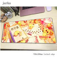 Pokemons mouse pad gamer 700x300mm notbook mouse mat large gaming mousepad large cheapest pad mouse PC desk padmouse