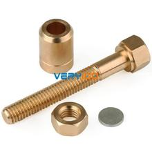 Nut Off Bolt Rotating Screw Close-Up Magic Trick Micro Psychic Super Ultimate RFREE Shipping
