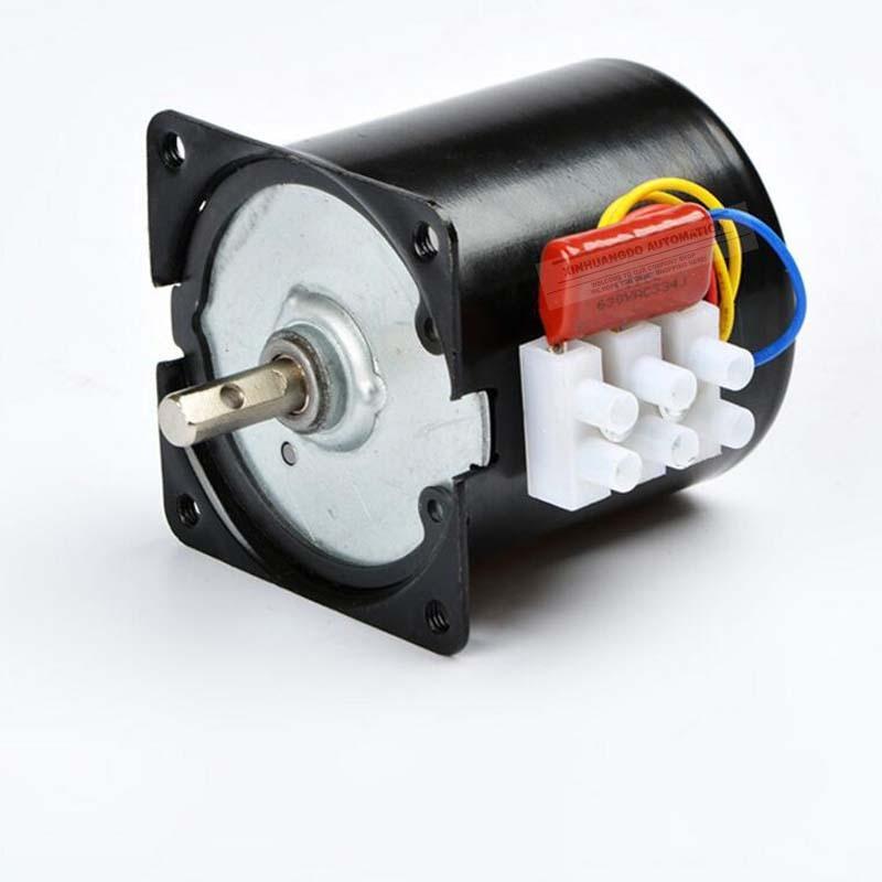 220v/28W Gear Motor 2.5RPM 100RPM AC synchronous motor,High torque gear motor, AC Low Noise Gearbox Electric Motor 68 KTYZ