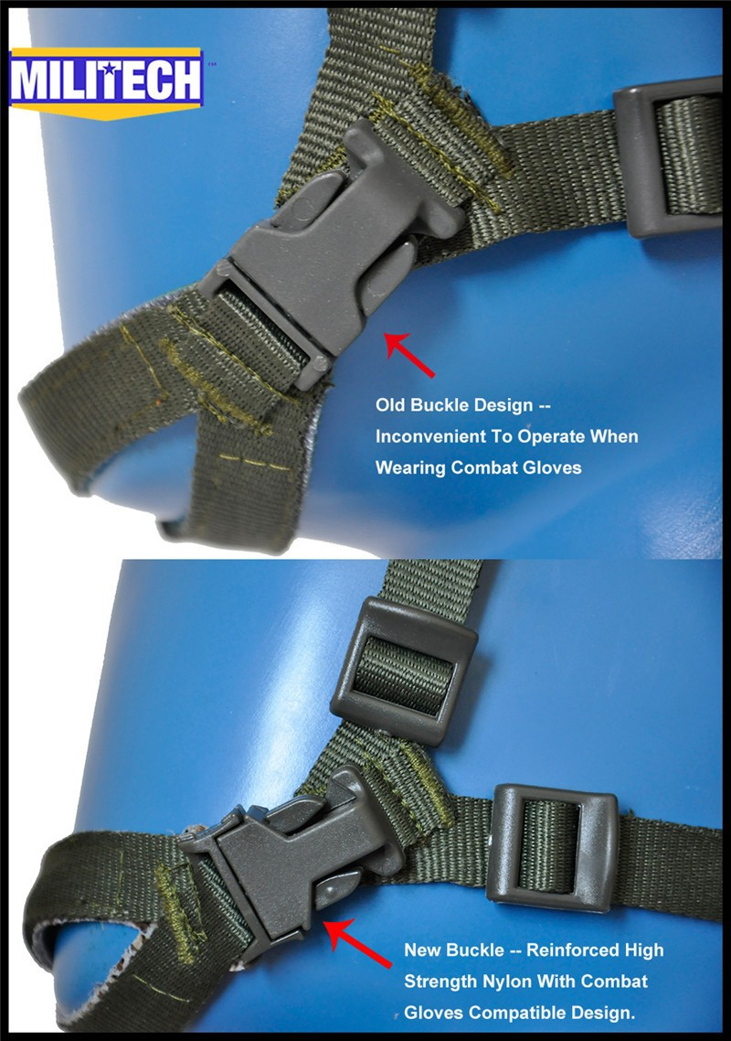 Green Buckles Comparison
