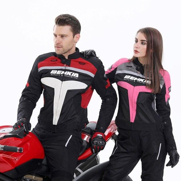 BENKIA Chaqueta de moto Hombres Ropa de carrera Primavera y otoño - Accesorios y repuestos para motocicletas - foto 6