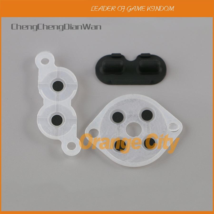 Chengchengdianwanシリコン導電性接着ゴムパッド用任天堂システムファミコンコントローラー100セット/ロット  グループ上の 家電製品 からの 交換部品 & アクセサリー の中 1