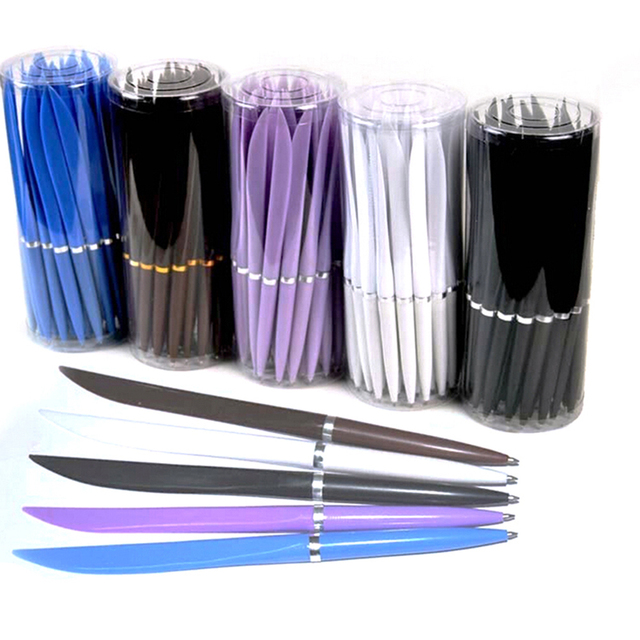 Blue ink ballpoint pen Ball point pen Office School Supplies Pens Pencils Writing Supplies Ballpoint Pens 10pcs