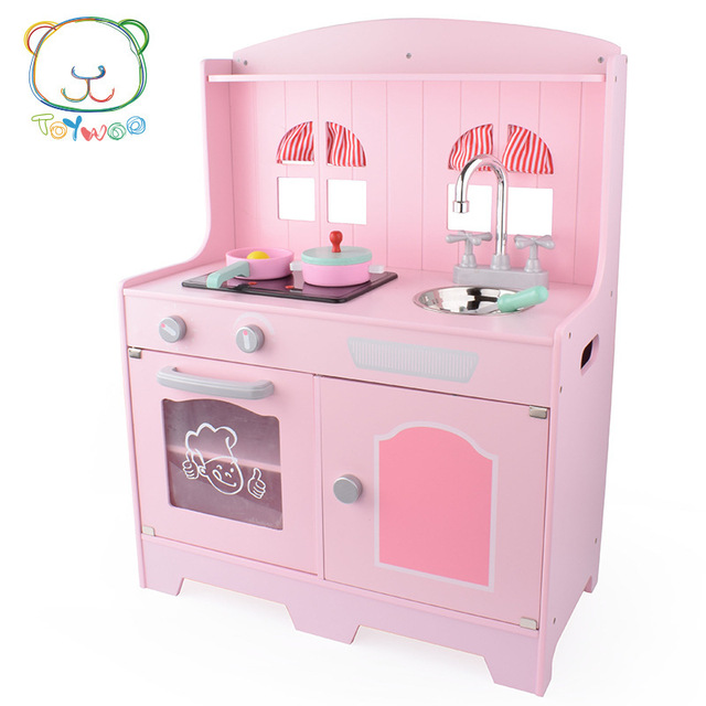Wooden Kitchen Set Stove Toy House Home Cut Children Cooking Small Kitchen Gas Stove Toy Kitchen Toys Aliexpress