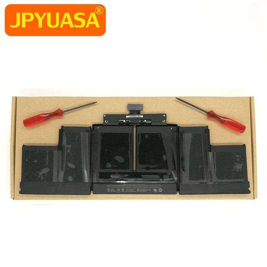 Véritable Nouveau A1494 Batterie Pour Macbook Pro Retina 15 pouce A1398 Late 2013 Mi 2014 11.26 V 95Wh