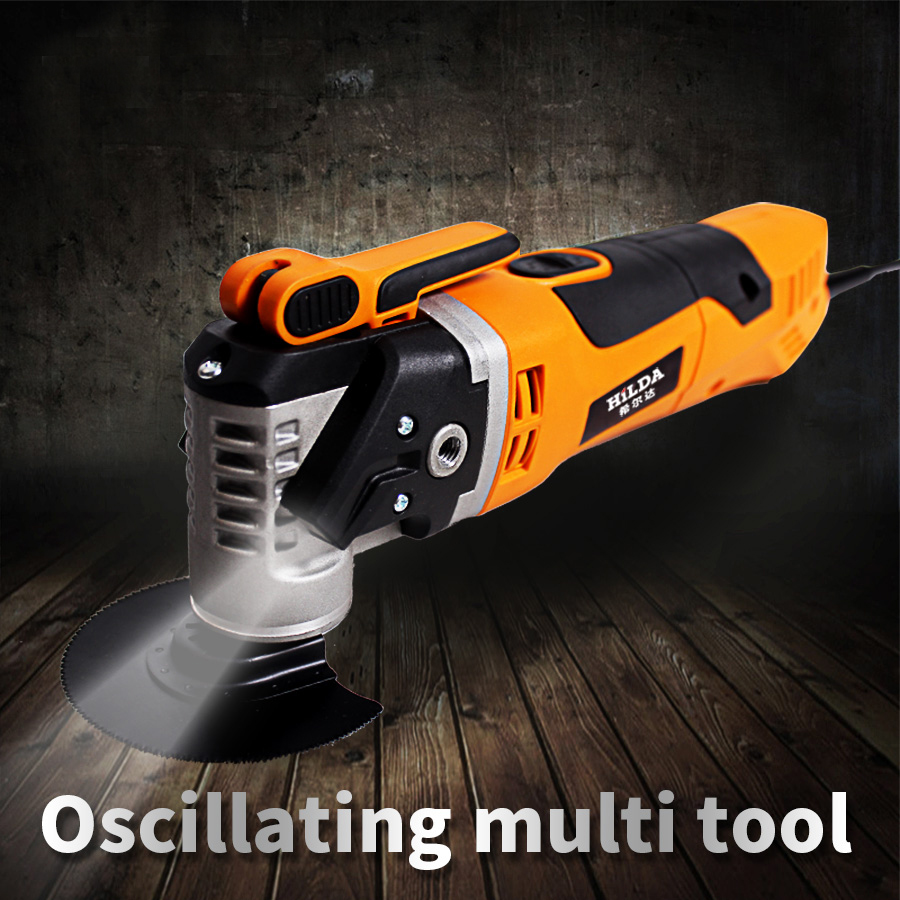 Multi Function Electric Saw Renovator Tool Oscillating Trimmer Home Renovation Tool Trimmer woodworking Tools Color Box
