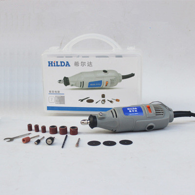 Hilda Dremel Hardware Variable Speed Tool Electric Tools  ,Mini Drill 6 position Dremel Rotary Tools mini grinding machine 110 230v mini grinder electric dremel drill engraver regulating speed grinding machine for milling polishing dremel accessories
