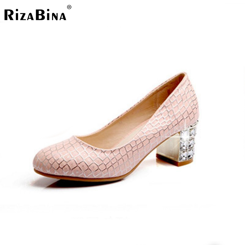 ФОТО women high heel shoes square pointed toe spring casual fashion pumps loafers heeled footwear heels shoes size 33-43 P16136