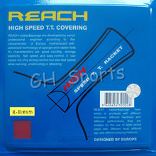 Reach HIGH SPEED Pips in Table Tennis Rubber With Sponge for table tennis racket ping pong bat paddle No ITTF(China)
