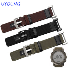 Quality Jeep Nylon Watchband 24MM For Suunto CORE For Mens