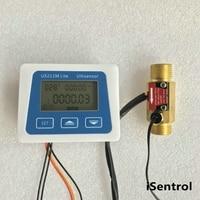 US211M Lite YF B7 1 25L/min Digital Flow Meter 5V Flow Reader Compatible with all our flow sensor with temperature sensor integr