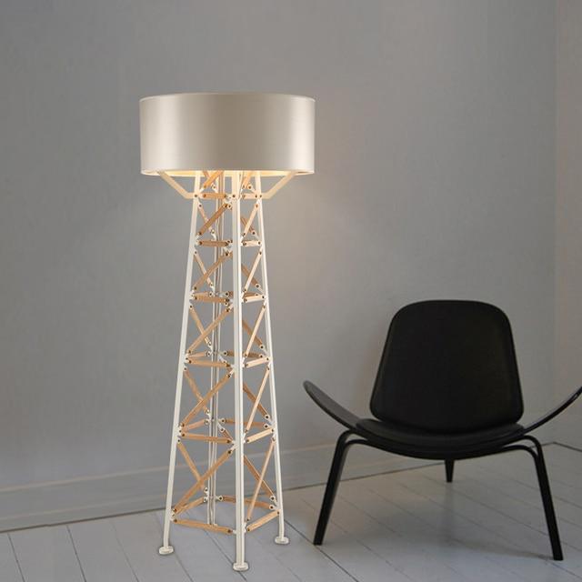 Nordic led floor lamp modern decorative led floor light bedroom ...