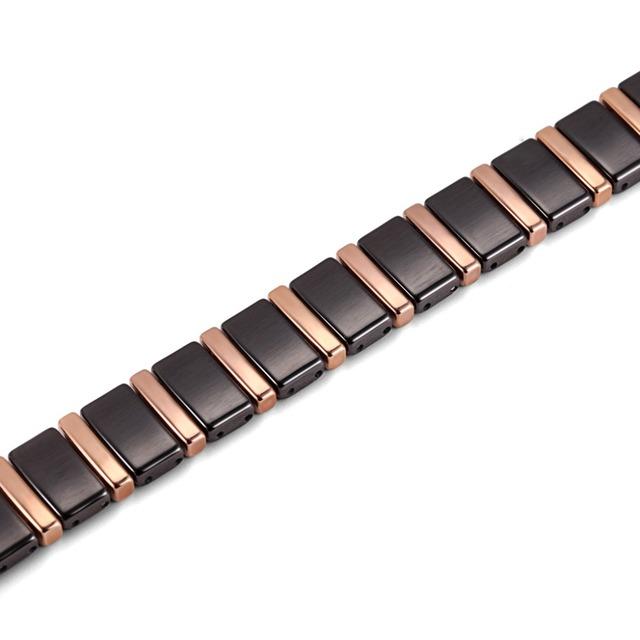 Black Ceramic Bio Energy Magnetic Health Bracelet
