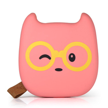 Cute Portable Power Bank 12000mAh Devil External Battery Backup Charger Dual USB Mobile For iPhone Xiaomi Samsung