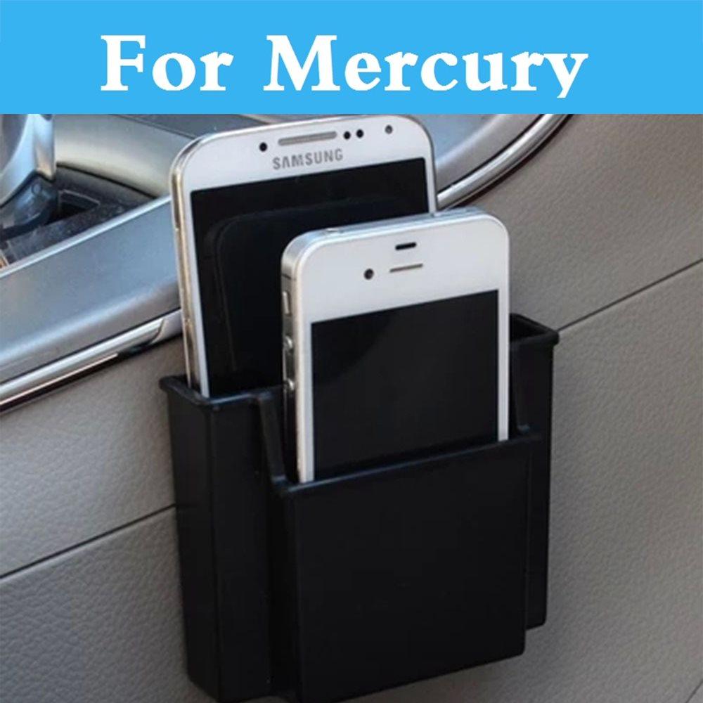 Car Cell Phone Holder Charge Box Holder Pocket Organizer Seat Bag For Mercury Marquis Mariner Milan Montego Grand Car Interior