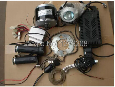 Electric bicycle mini roadster 24v 350w DC motor accessories,electric bike conversion kit