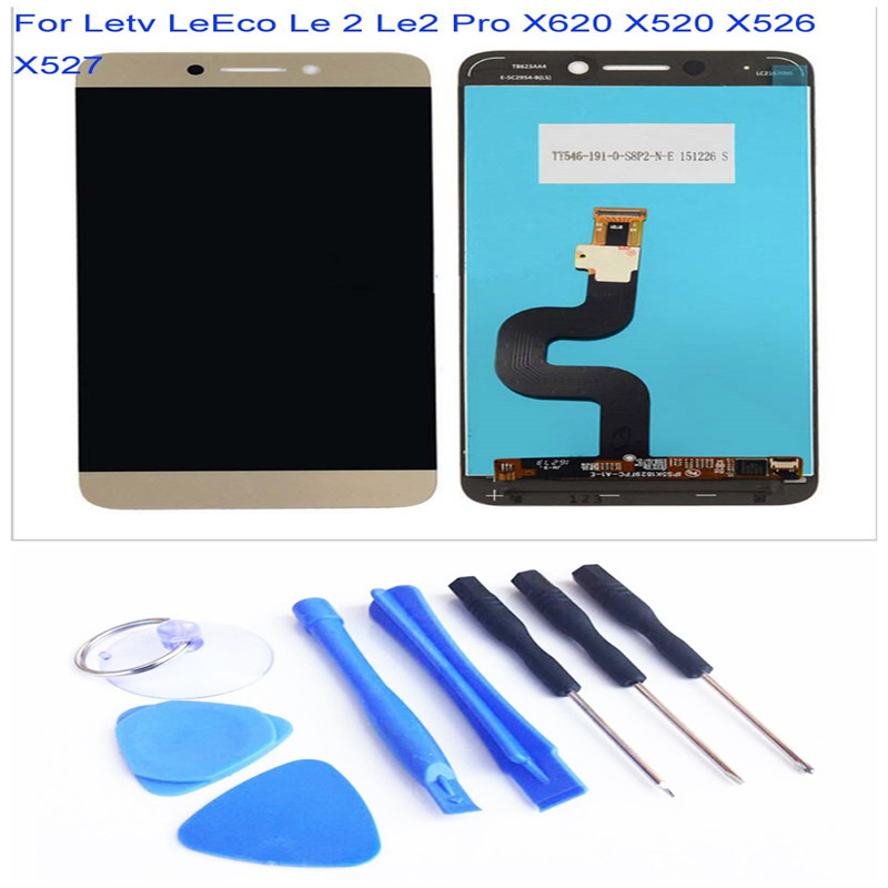 Atten for Letv LeEco Le 2 Le2 Pro X620 LCD Display Touch Screen Digitizer Assembly Replacement and Tools