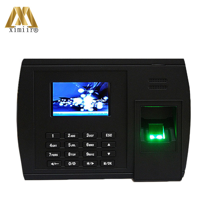 Linux System XM228 Fingerprint Recognition Time Attendance Machine High Speed Operate Time Recoder System