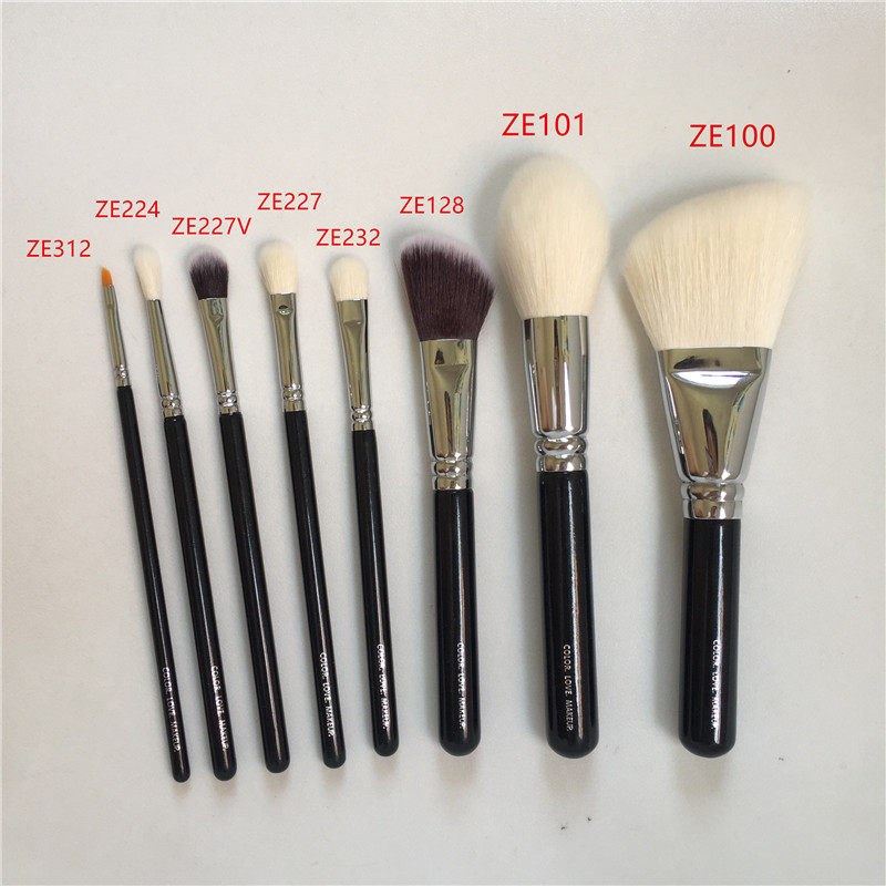 ZE 100 Роскошная косметика для лица 101 Definer 128 Cream Cheek 232 тени для век 227 тени для век 224 кисть для складки макияжа блендер инструменты