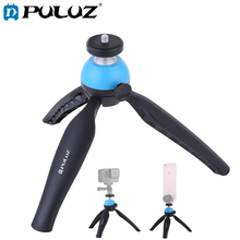 PULUZ Pocket Mini Tripod Mount For Smartphones 17.3*5.5*4.3cm 360 Degree Ball Head Set GoPro DSLR Cameras