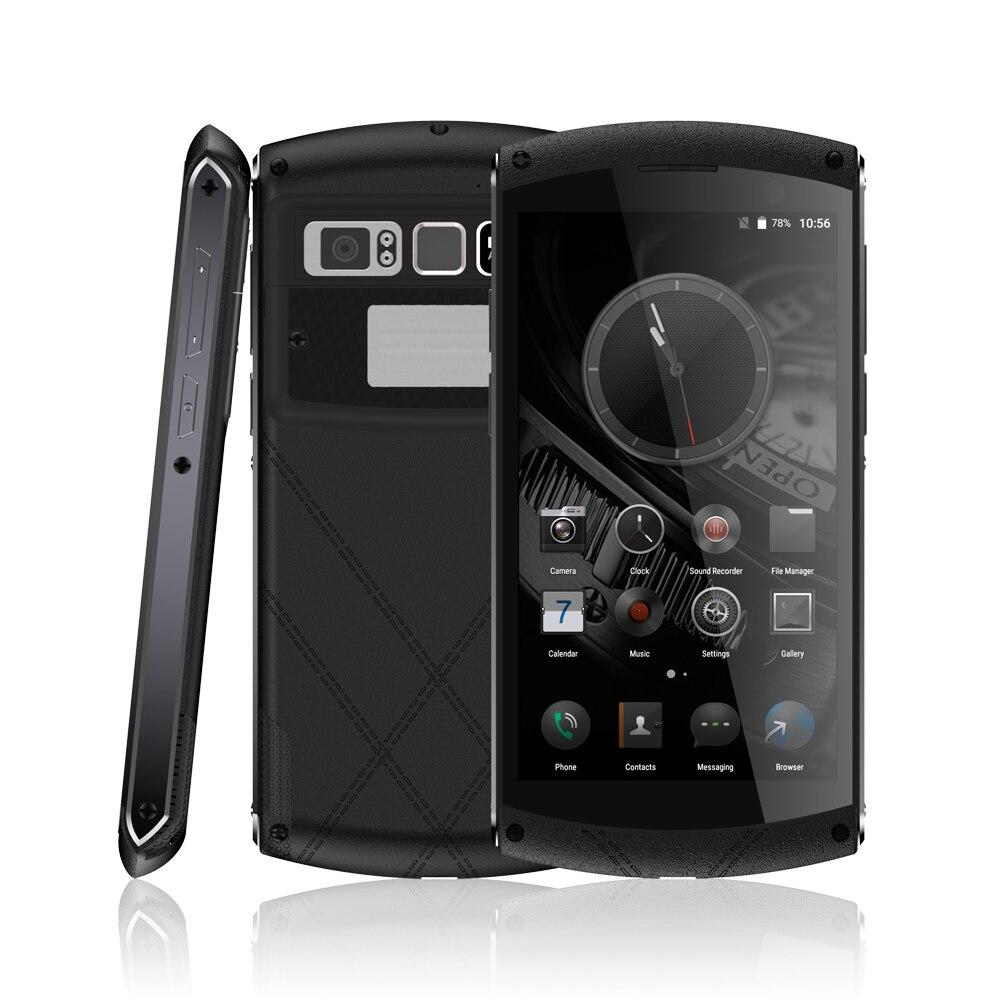 Galleria fotografica Bussiness De Luxe Téléphones Cellulaires Android 6.0 Étanche Téléphone Robuste Smartphone MTK6755 Octa base 4G LTE 5