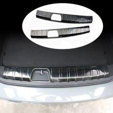 Автомобильный задний бампер из нержавеющей стали Накладка на