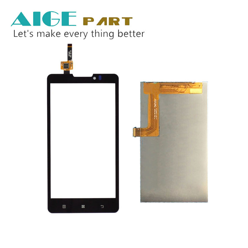 New White Black For Lenovo A2010 a Monitor LCD Display Digitizer Touch Screen Free shipping