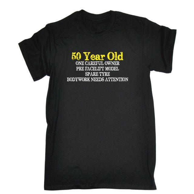 50 Jahre Alte Vorsichtig Besitzer T Shirt T Geburtstag Witz Alt