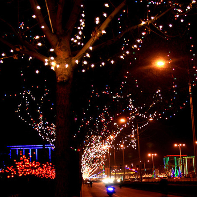 Led solar string lights lamps outdoor garden waterproof fairy led solar string lights lamps outdoor garden waterproof fairy decoration light garland wedding holiday party lighting workwithnaturefo