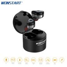 Wonstart TWS Bluetooth Earphones True Wireless Earbuds Mini Stereo Music Headsets IPX6 Truly Wireless Earphone With Touch Key