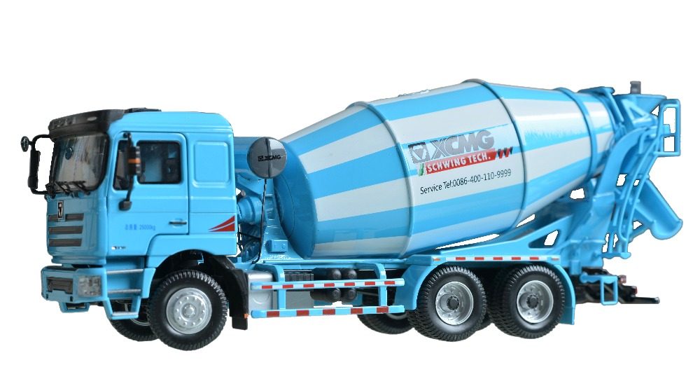 Collectible Model 1:35 Scale XCMG T-Series Schwing Concrete Mixer Truck  Engineering Machinery DieCast Toy Model For DecorationCollectible Model 1:35 Scale XCMG T-Series Schwing Concrete Mixer Truck  Engineering Machinery DieCast Toy Model For Decoration
