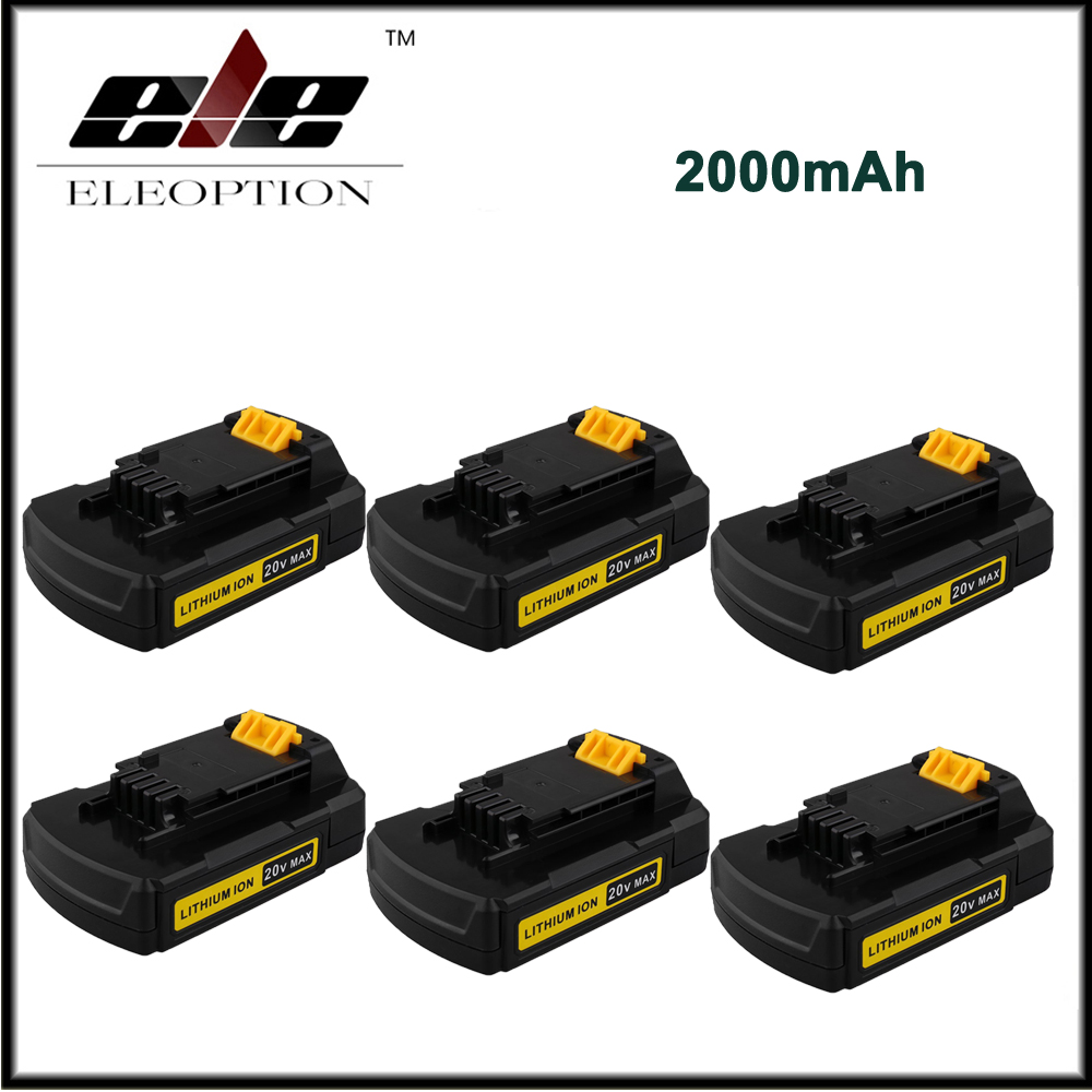 6x High Quality 20V Max 2000mAh Replacement Battery for Stanley font b Power b font font