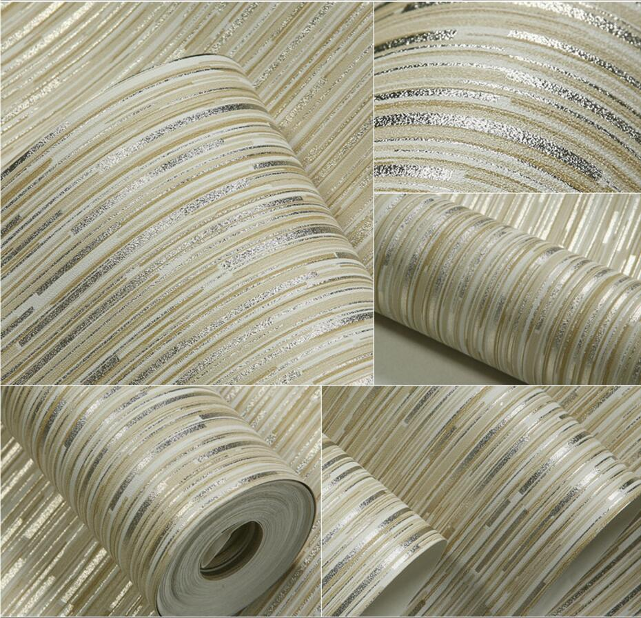 Waterproof washable Wallpaper metal quality pure plain wallpaper background wallpaper