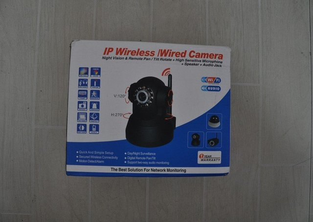 Wireless IP Camera Network WIFI Audio Webcam Night Vision 11 LED Security Cam
