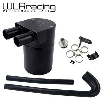 WLR - Black Aluminum Alloy Reservior Oil Catch Can Tank with radiator hose for BMW 125i 220i 228i 320i 328i 420i 428i N20 N26