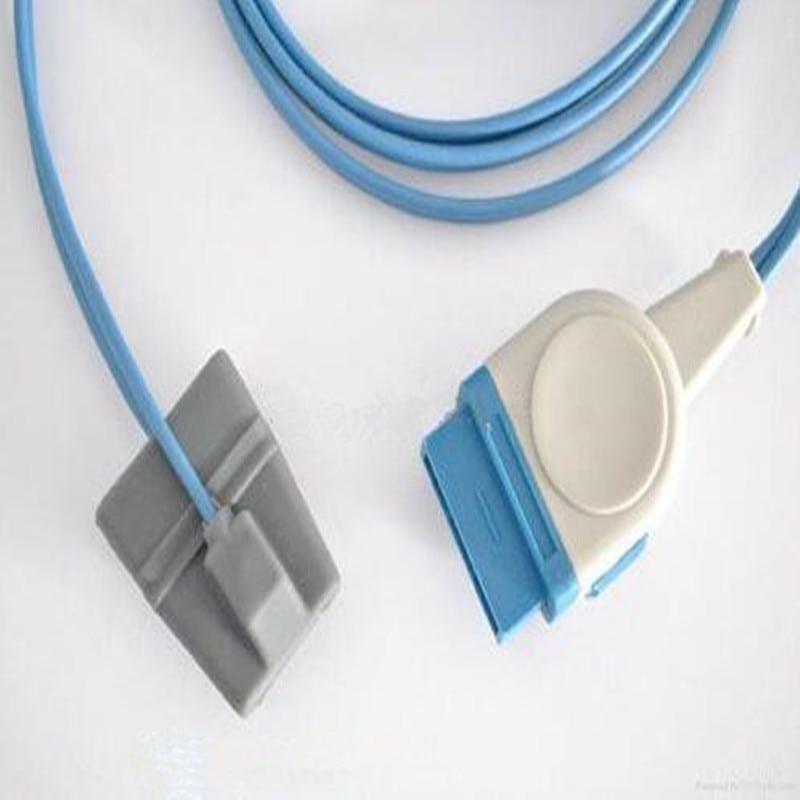 Free Shipping Compatible for GE Dash2500 Oximax 11pin Pediatric Silicone Spo2 Sensor Oximeter Probe Sensor,Oxygen Probe TPU 3MFree Shipping Compatible for GE Dash2500 Oximax 11pin Pediatric Silicone Spo2 Sensor Oximeter Probe Sensor,Oxygen Probe TPU 3M