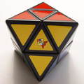MoZhi Skewb Diamond Magic Cube Puzzle Black and White Learning&Educational Cubo magico Toys as a gift
