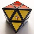 Mozhi Skewb diamante Cubo mágico en blanco y negro rompecabezas de aprendizaje y juguetes educativos Cubo juguetes como un regalo