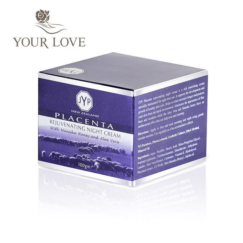100% NewZealand Sheep Placenta Anti Wrinkle Day Cream+Night Face Cream Sets Reduce Face wrinkles Manuka Honey Rejuvenation Cream 1