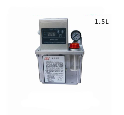 цена на 1.5L Details about Auto Lubrication Pump CNC Digital Electronic timer LCD Automatic oiler 220V