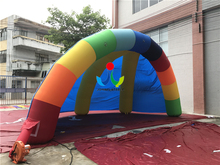 8X4 5X4M Hot Sale Oxford Fabric Inflatable Air Dome font b Tent b font Inflatable Semicircle