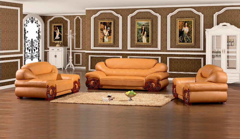 2017 hot sale luxury home furniture leather sofa set. Leather Sofa Set Promotion Shop for Promotional Leather Sofa Set
