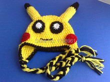 Crochet Pokemon Hat, Kids Hats, Newborn Hat,Cartoons Hat for girl or boy