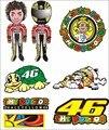 Valentino rossi adesivo 46 vr46 médico para a yamaha capacete grande kit motocross moto motocicletas bicicleta skate bagagem