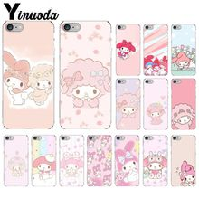 Yinuoda My Melody Sweet Piano Custom Photo Soft Phone Case for iPhone 8 7 6 6S Plus 5 5S SE XR X XS MAX Coque Shell