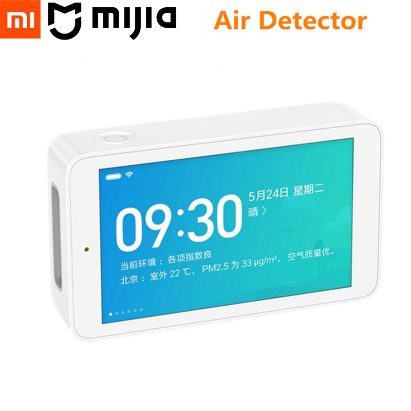 Original Xiaomi Mijia Air Detector High-precision Sensor 3.97 Inch Screen Resolution USB Interface Home Office PM2.5 Monitoring