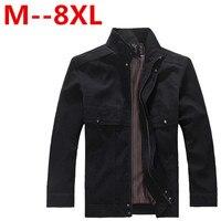 9XL 7xl 8XL 6XL 5XL 4XL 2016 New Arrival Spring Men S Solid Fashion Jacket Male