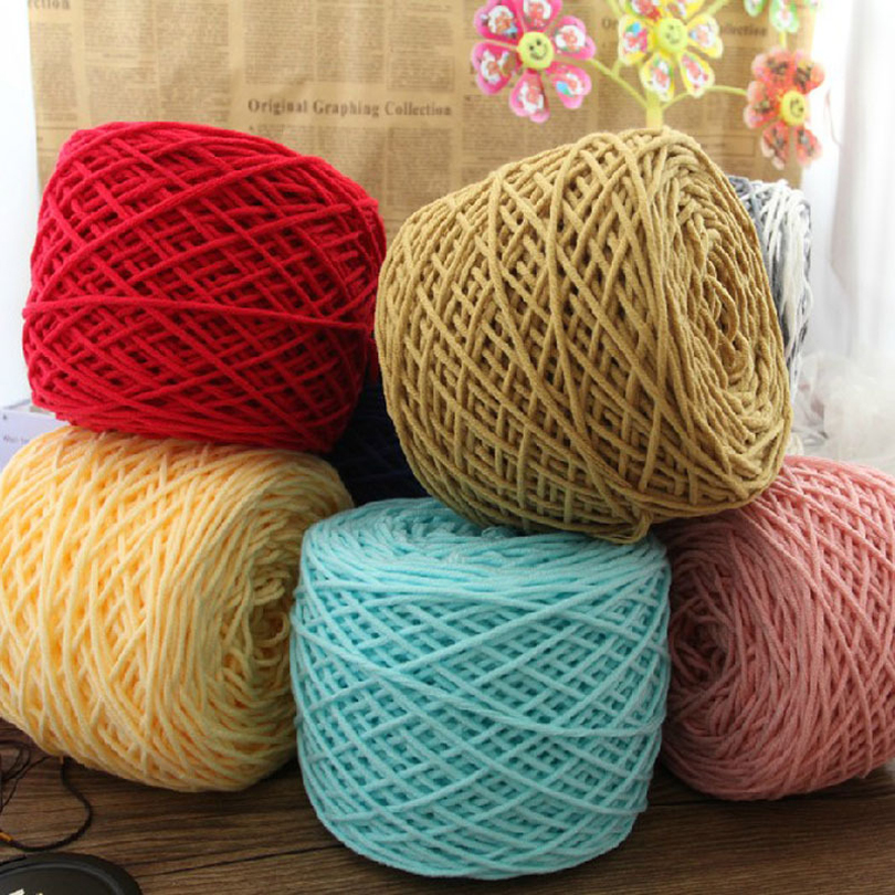 Multi strand wire milk cotton cotton knit hat scarf towel sewing ...